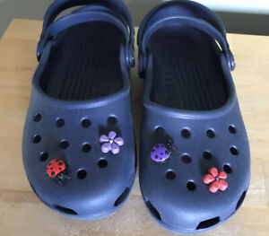 Crocs Navy Uk Size 4 US 6