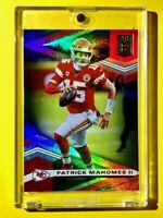 Patrick Mahomes DONRUSS ELITE GREEN HOLOFOIL PANINI 2020 CHIEFS CARD #1 - Mint!