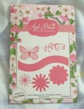 Apple Blossom All Occasions Collection - Banners and Blooms Die Set - 6 Dies