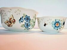 Lenox Butterfly Meadow Nesting Bowls Set of 2 NEW IN BOX!
