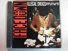 FACE DOWN ILLEGAL DRUGS REALLY HURT 1990 ORIG PRESS OOP CD RARE HIPHOP CONSCIOUS