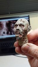 custom painted walking dead zombie head version 8 for 12 inch body