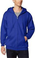 Hanes Men's Full Zip Ultimate Heavyweight Fleece Hoodie,, Deep Royal, Size
