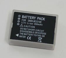 New DMW-BCG10E Battery for Panasonic Lumix TZ30 TZ20 TZ18 TZ10 TZ6 TZ7 TZ8 TZ6