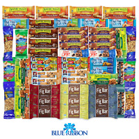 Healthy Snack Care Package 56 Count Snack Sampler Gift Basket