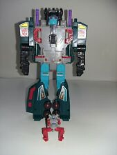 Vintage 1987 Transformers G1 Powermasters Doubledealer Action Figure Toy Hasbro