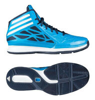 Adidas Crazy Fast 2 Hi-Top Baseball Blue Fashion Trainers Boots Mens UK7