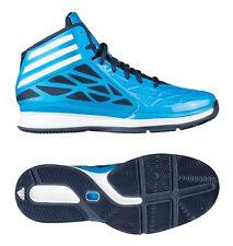 Adidas Crazy Fast 2 Hi-Top Baseball Blue Fashion Trainers Boots Mens UK7