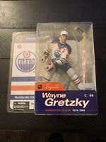 Wayne Gretzky Edmonton Oilers Variant NHL Legends 1 McFarlane Action Figure Gem