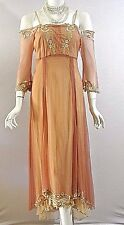 Vintage Style dresses Nataya Dress Plus Sz 3X Titanic Coral Off the shoulder NWT