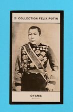 MILITARY  -  FELIX  POTIN  OF  FRANCE  -  MARSHAL  OYAMA  -  1908