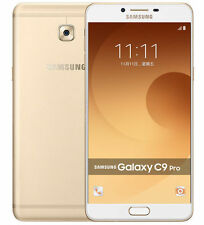 "Imported Samsung Galaxy C9 Pro Duos Dual 64GB-6GB-6""-16MP-16MP -Gold"