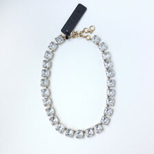 J.CREW CRYSTAL CUBE NECKLACE