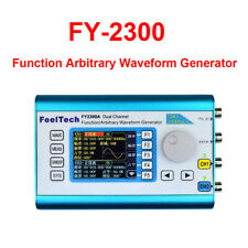 """2.4"""" Screen Dual Channel DDS Arbitrary Waveform Signal Generator 0-20Mhz Meter"""