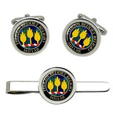 Millar Scottish Clan Cufflinks and Tie Clip Set
