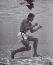 "Muhammad Ali Mini Poster ""Licensed"" Brand New ""Under Water"" Size 40cm X 50cm"