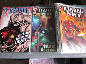 DC Comics-Azrael Agent of the Bat-58 various issues-Read Once,Bagged,Boxed condi