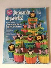 Wilton Book Decoración De Pasteles Libro En Espańol Cupcakes N More