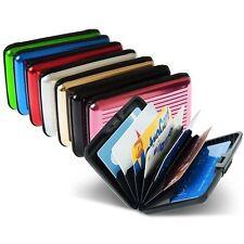 Tarjetero cartera ALUMA WALLET para tarjetas, varios colores