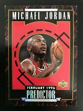 1995-96 Upper Deck Michael Jordan Predictor Player of the Week H3