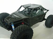 AXIAL YETI CARBON FIBER BODY SET WITH LED LIGHTS