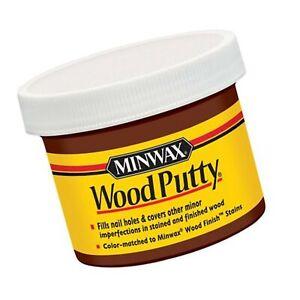 Minwax 13613000 Wood Putty, 3.75 Ounce, Mahogany Red Mahogany 3.75 oz
