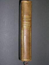 Ile de la Réunion Leconte de Lisle poèmes antiques reliure cuir lemerre 1900