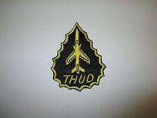 b4939 Vietnam US Air Force Thud Patch black and yellow IR21B