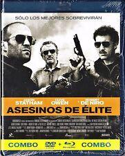 ASESINOS DE ÉLITE. combo BLU-RAY y DVD. Tarifa plana envío España, 5 €