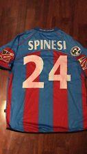 Maglia Calcio Catania  Match Worn 2005/ 06 Serie B Promozione Spinesi Bomber