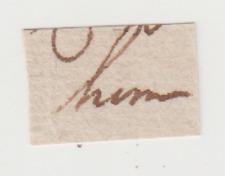 "One Word ""Him"" Handwritten by Alexander Hamilton - Patriot & Founding Father"