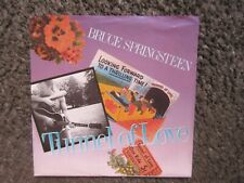 """BRUCE SPRINGSTEEN """"TUNNEL OF LOVE"""" 1987 COLUMBIA W/PS WL PROMO 7"""" NM/EX OOP"""