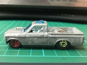 Hot Wheels prototype test run-Custom 72 Chevy-rivet Very Rare