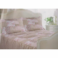 Traditional Vintage Quilted Fitted Bedspread Set Including Pillowshams Montana
