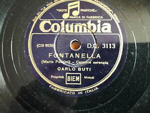 """78 giri """"CARLO BUTI"""" MADONNA FIORENTINA  - FONTANELLA """" COLUMBIA D.Q. 3113  VG+"""