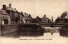 CPA   Chaulnes en 1914 - La Grande Place (vue Ouest) (514539)