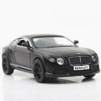 1:36 Scale Bentley Continental GT Model Car Diecast Toy Vehicle Pull Back Black