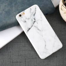 Hot Black White Marble Stone Painted Case For iPhone X 8 7 6s 6 Phone Case Cover