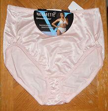 Vassarette Undershaper Hi Cut Panties Sz 10 (3X) NWT Pink Style 48001