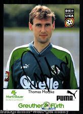 Thomas Motzke SpVgg Greuther Fürth 1997-98 TOP AK  +A52258