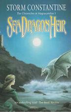 Storm Constantine SIGNED Sea Dragon Heir UKPB