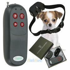 4 In 1 Remote Small/Med Dog Training Shock Vibrate Collar Trainer Safe For Pet