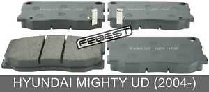 Pad Kit, Disc Brake, Front For Hyundai Mighty Ud (2004-)