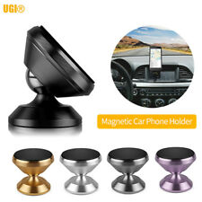 360° Car Magnetic Phone Stand Holder Dashboard Mount For Andriod Samsung iOS GPS