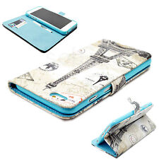"""Tower Skin Leather Flip Stand Wallet Cover Case For Apple iPhone 6 Plus 5.5"""""""