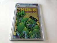 INCREDIBLE HULK 1/2 CGC 9.8 WHITE PAGES RHINO APP WIZARD MARVEL MAIL AWAY COMIC