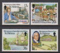 St Helena - 1992, Local Anniversaries set - MNH - SG 621/4