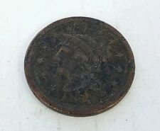 * 1850 UNITED STATES LARGE ONE CENT COIN