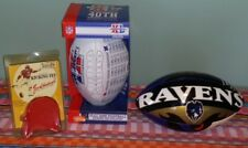 SUPER BOWL XL Football-JAN STENERUD NFL Kicking Tee-Baltimore RAVENS Football