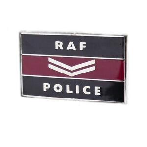 RAF Police (RAFP) Corporal pin badge -Royal Air Force Police Corporal Chevrons
